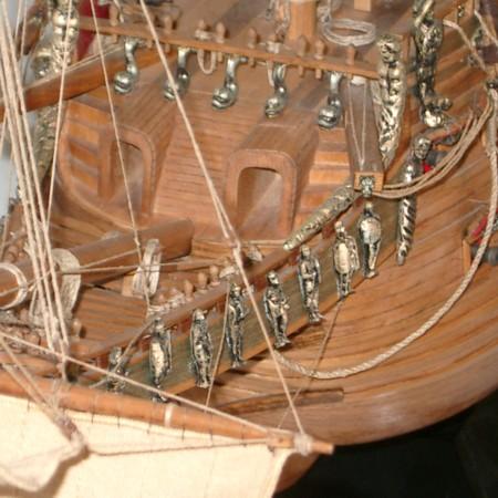 スウェーデンの戦艦バーサ号(WASA号)